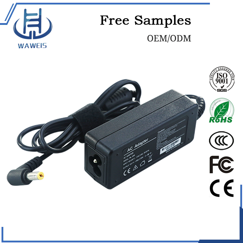 Hot Selling High Quality 19V 1.58A Mini Power Adapter for Acer Netbook 30w Laptop Adapter Charger 5.5*1.7mm