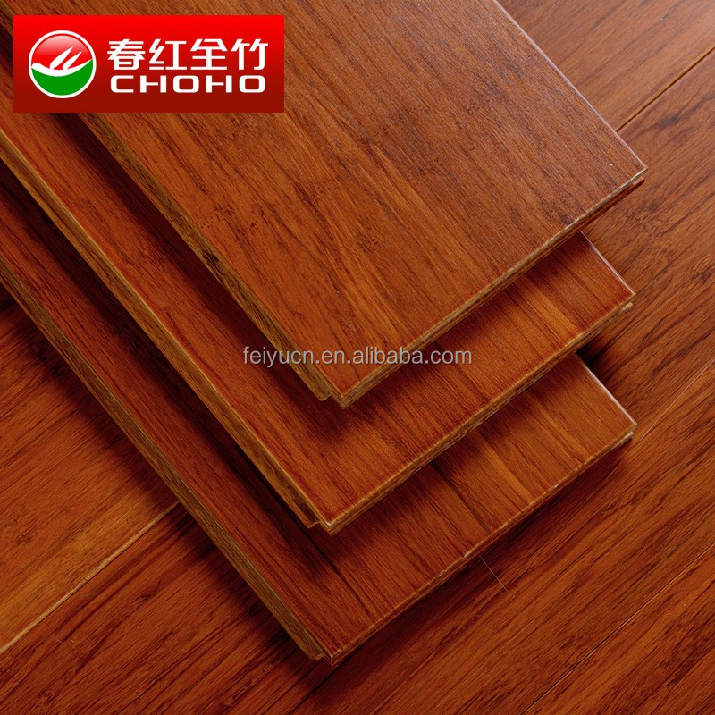 2015 Strand woven camel color semi-gloss cheap bamboo flooring
