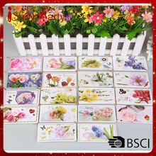 Yiwu Brand High Quality greeting card thank you card wholesale