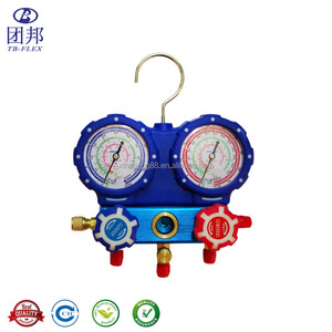 Digital Manifold Gauge Refrigerant Set Freon Pressure Gauge