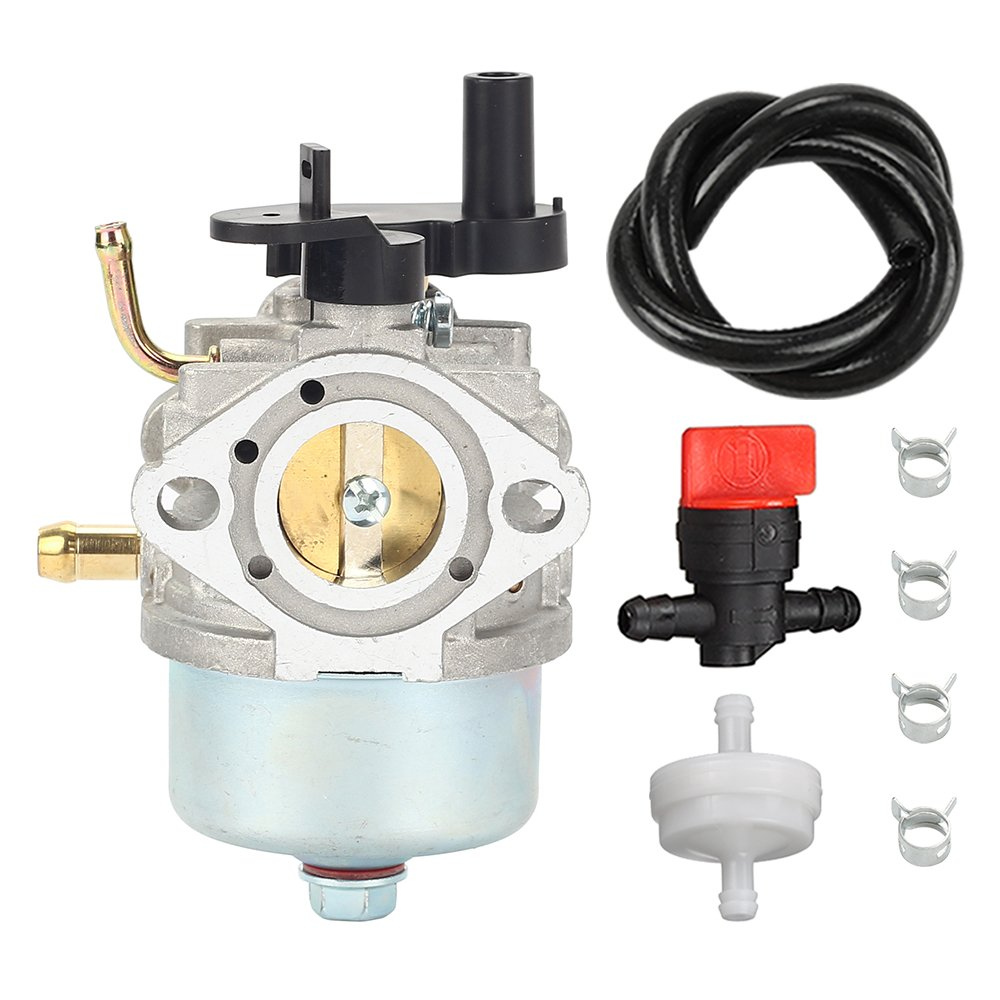 CCR2450 carburetor with Fuel Filter Line Valve for Toro 210 221 Powerclear Snowblower Briggs & Stratton 801396 801233 801255 084132 084133 084233 084332 084333 Cycle Lawnboy Insight CCR3650