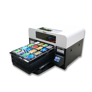 High Speed Desktop Mini Phone Cover UV Flatbed Printer A3