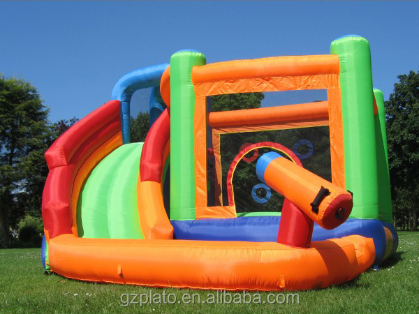 Inflatable Water Castle