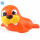 New custom kawaii pu squishies plastic toys sea lion animal squishy