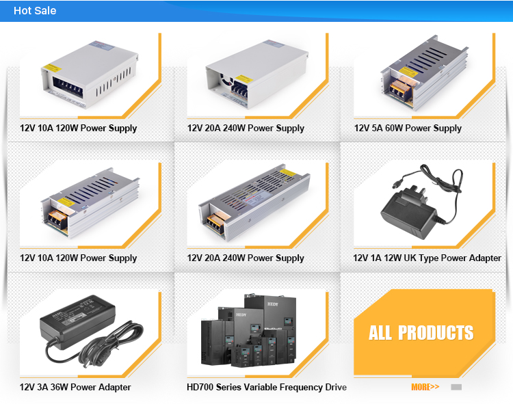 16 channel 12V 8A 13.5V 7.12A 15V 6.4A selected by switch 96W CCTV power supply