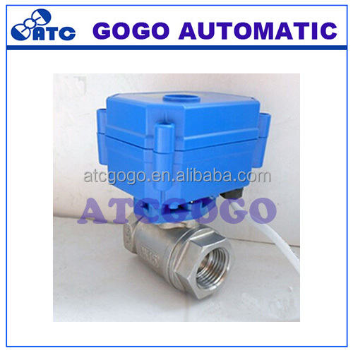 CWX15Q/N Series of water control system stainless steel MINI electronic actuator ball valve