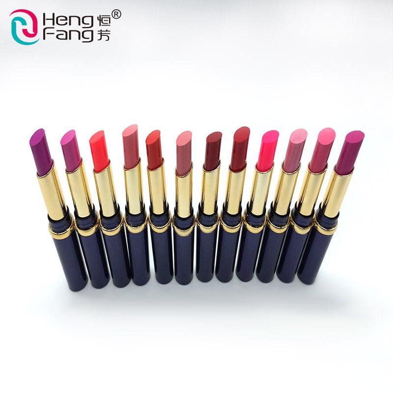 Фабрика низкая цена Косметика разноцветные маленькие образцы макияж красочная губная помада