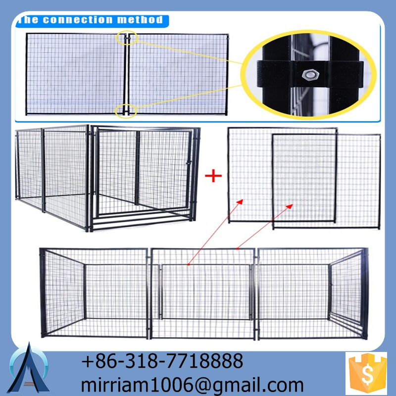 used dog kennels or galvanized comfortable acrylic pet cage dog house