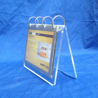 2018 customized acrylic calendar photo frames