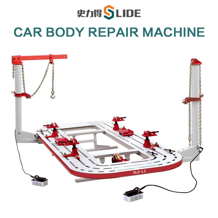 SLD-L2 SLD-L2 CE certificate car body frame machine auto body frame ...