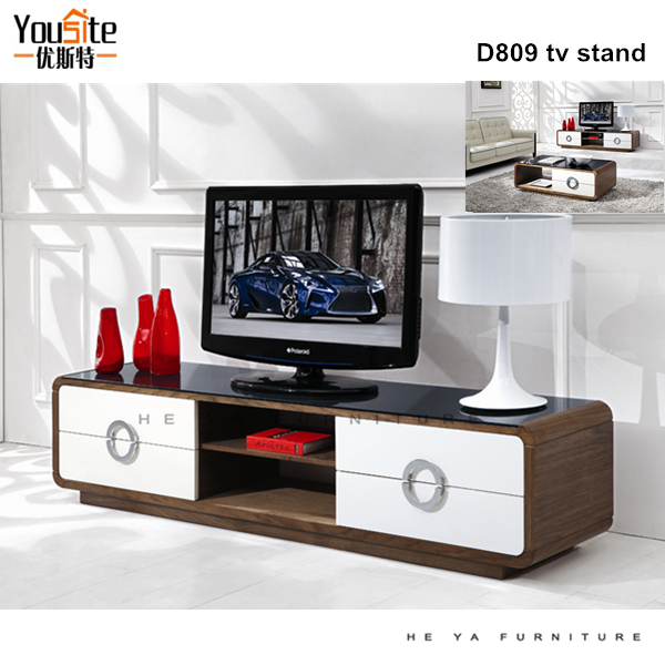 Home Furniture Lcd Tv Wall Unit Designs D809