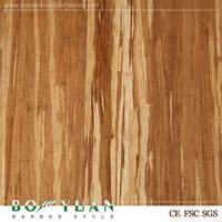 Brand BOYUAN China gold supplier High reflective unfinished hardwood bamboo flooring