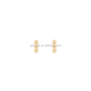 925 silver jewelry 18K gold plating Unique earrings manufacturer