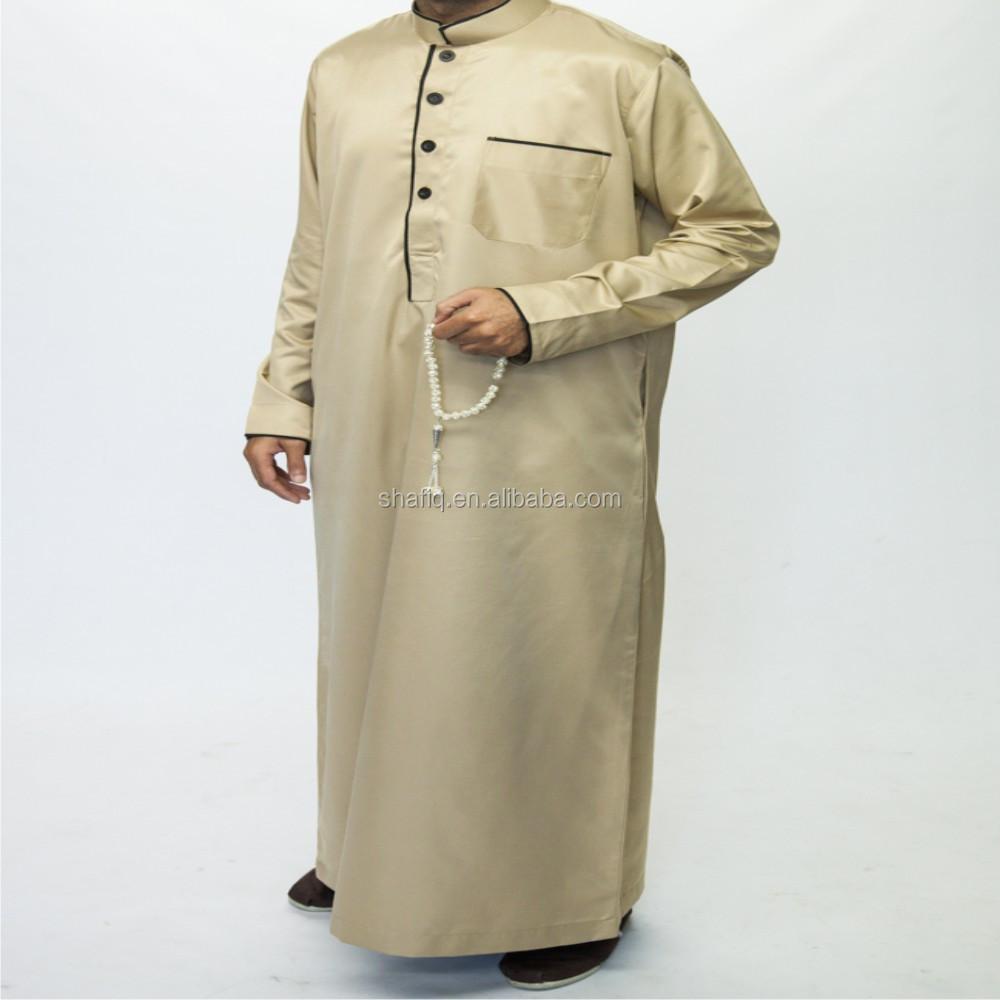 8834cad00e73e آل haramain نمط العربية السعودية thawb jubba الرجال الثوب مسلمة الإسلامي  رداء اللباس