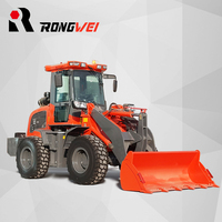 Europe market popular articulated mini wheel loader small front end wheel loader weifang manufacturer