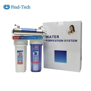 RE302 kitchen water purifier under sink 3 stage water filters with UV lamp sterilizer home water purifier machine uv