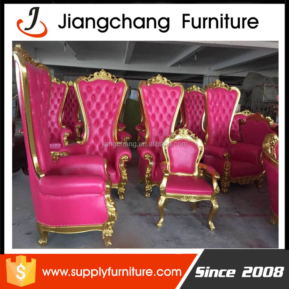 Where Can I Buy Cheap Chairs: Wholesale Wedding Furniture King Queen Chairs Jc-k66