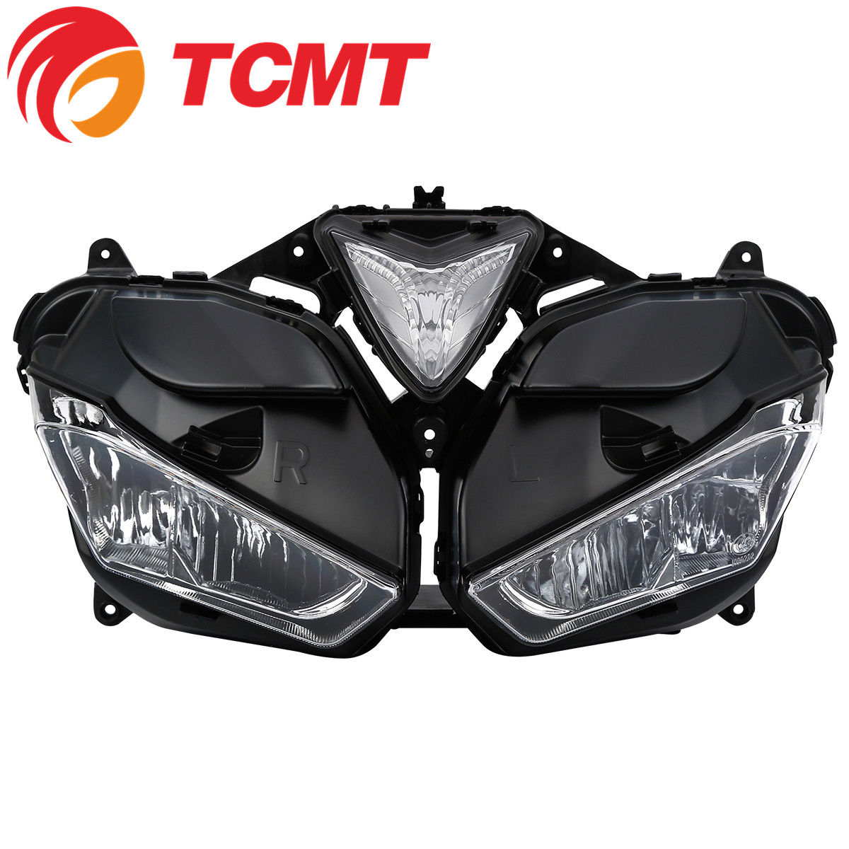 Tcmt Xf140187 Motorcycle Parts Front Headlight Assembly Head Lamp Clear Lens For Yamaha Yzf R3 R25 2013 2016 Buy Motorcycle Parts