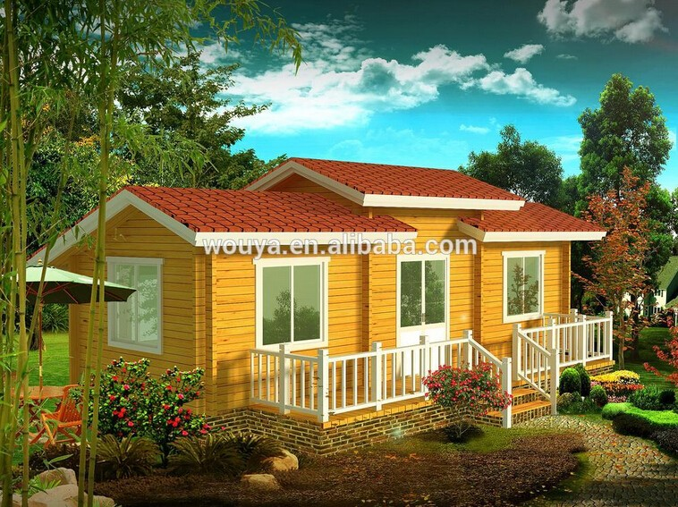 2016 Cheap Pefabricated Modular Wooden House For Sale