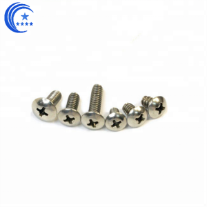 M1.2 Cross Cheese head machine small screw