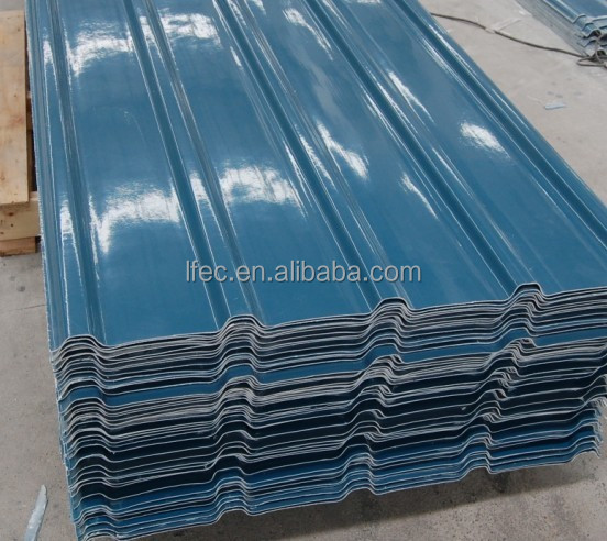 Easy Installation Prefab Light Weight Steel Roofing Sheet