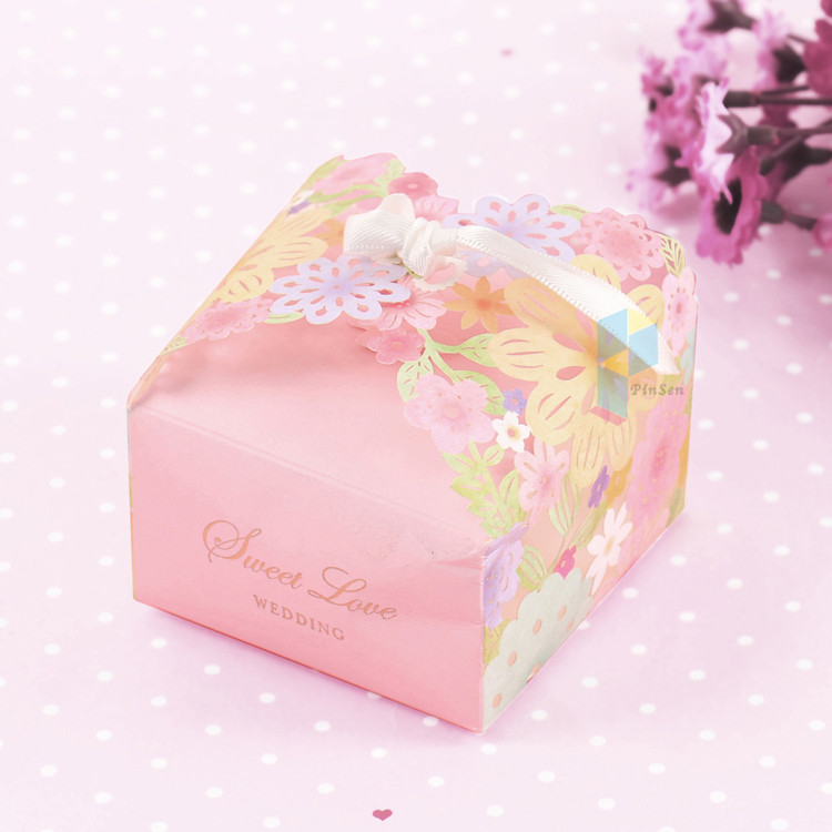 Custom Pretty Card Packaging Small Wedding Cake Boxes Uk