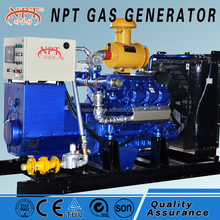 portable home use natural gas generator (120kW,Deutz,chp system)