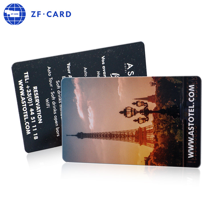 PVC RFID Cards with MIFARE Ultralight(R) printed 4/4 with Gloss overlamination