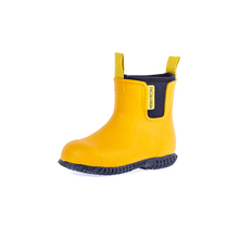 Children Rubber Waterproof Boots Kid Rain Shoe