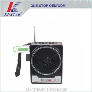 FM band portable mini rechargeable usb radio receiver NS-048U