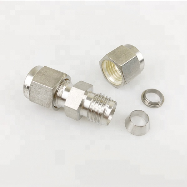 stainless steel <strong>fittings</strong> 6 MM to 25 MM with double ferrule