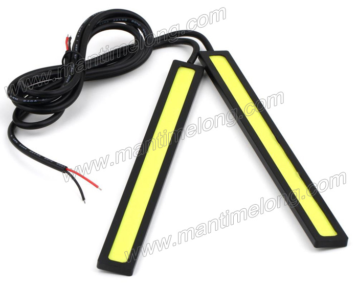 Ultra-thin 9W COB Chip New update 84 LED Daytime Running Light 100% Waterproof LED DRL car lights