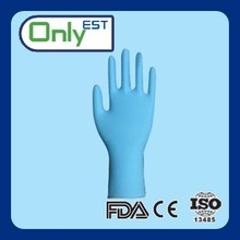 Long arm powder free safety cuff nonsterile XL nitrile disposable gloves