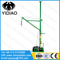 220V 60m interior single column lifting machine 500kg ordinary household clutch hanging sand hanging machine