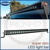 Ripdark patented single row 4x4 Led drive Light bar / High quality light bars for all ATV, UTV truck, 4 wheelers offroad vehicle