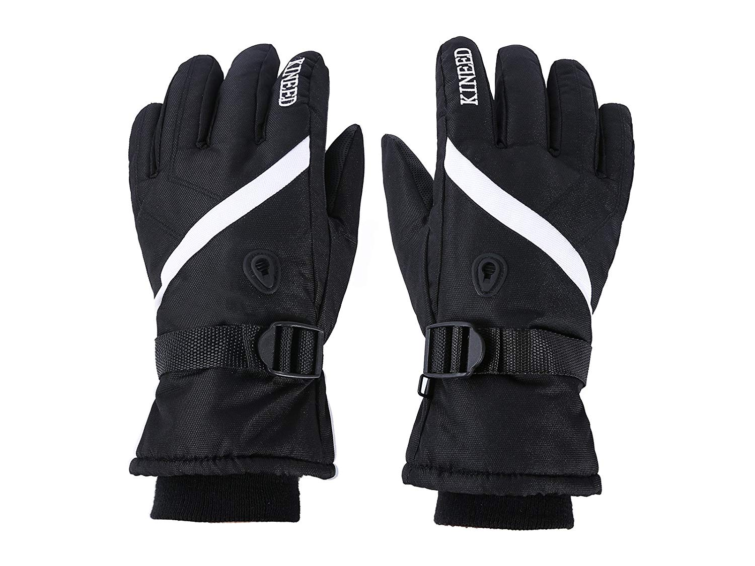 Get Quotations · Ski Gloves Snow Gloves for Men and Women with Wrist Guard  Waterproof Windproof Warm-fit a0d2951ce