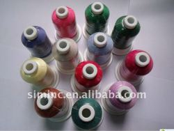 polyester thread, thread, embroidery thread