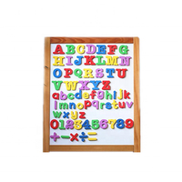Promotional Gifts Custom Plastic Wooden Alphabet Magnetic Letters For Kids
