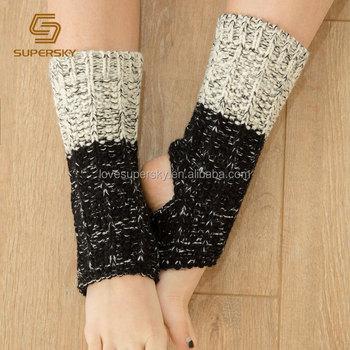 T18 Winter Knit Dance Ballet Socks Knit Pattern Ankle Yoga Socks