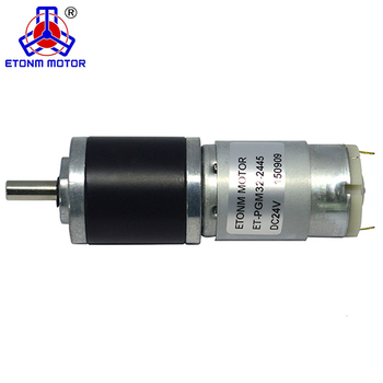 ET-PGM32 32MM gear electric motor  motor planetary gearbox High Torque Low Rpm 12v 24v Dc Motor