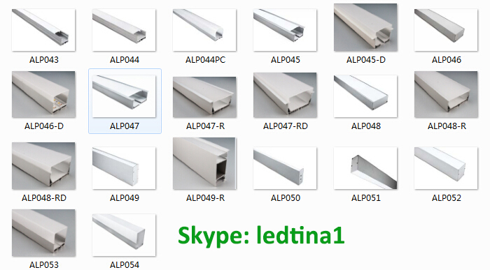 Led Mounting ChannelLed Aluminum Profile Led Strip