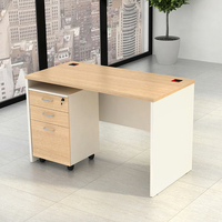 Use the filing cabinet with the main table
