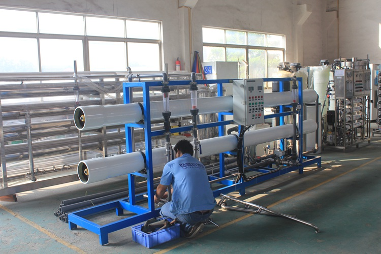 Industrial Ro Stainless Steel Water Filter Syste Machinery Treatment Parts Project Construction