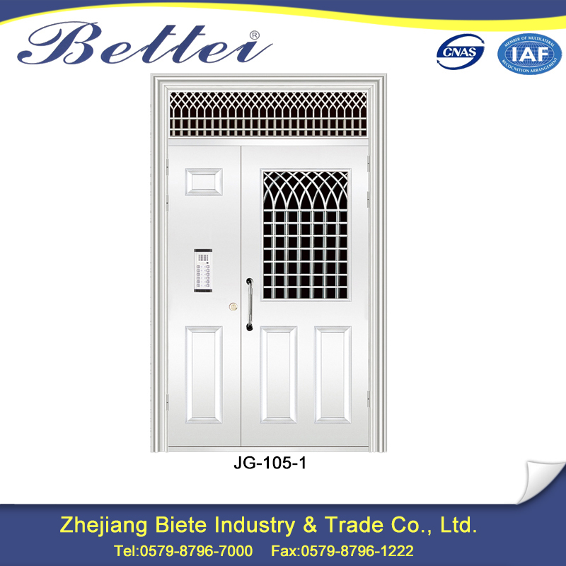 Factory Cheap price 1 hours fire rated mom and son exterior door