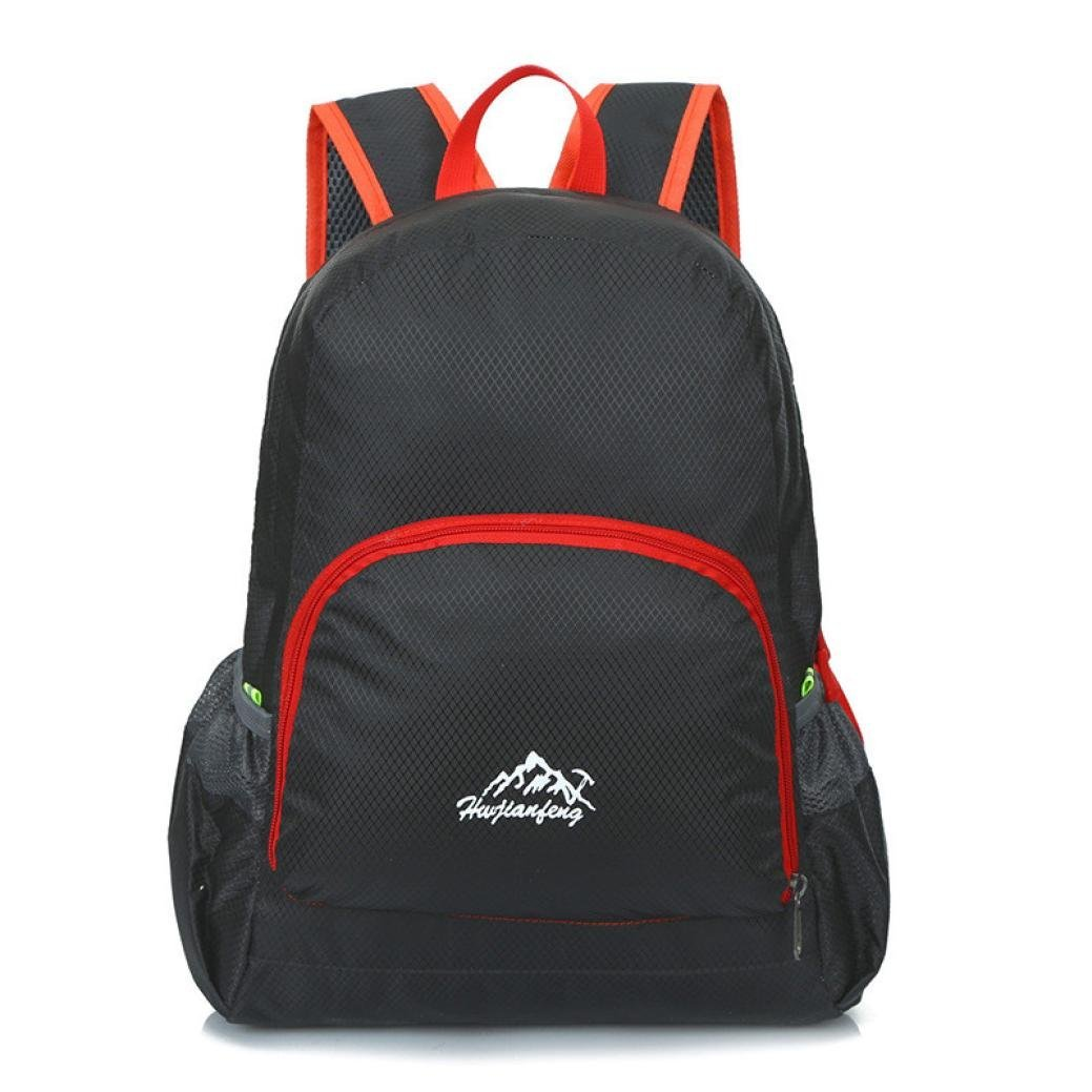 Iuhan® Fashion Outdoor Waterproof Bionic Camouflage Pattern Folding Backpack Package Bag Camo