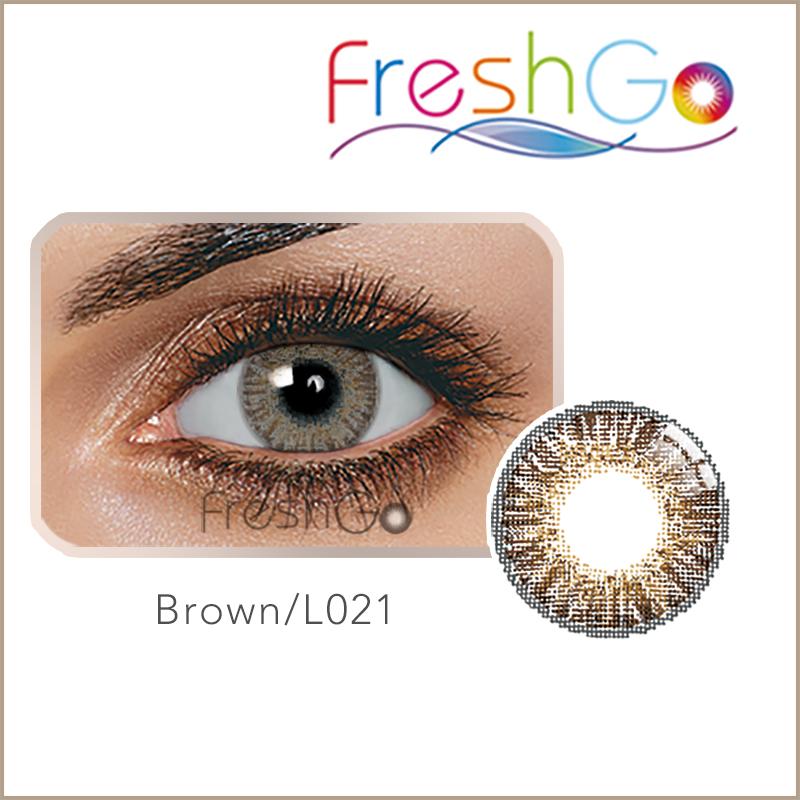 d3d3de5f0 Freshgo الجمال $1 عدسات لاصقة ملونة رخيصة العدسات اللاصقة الملونة العين  سويتي الاسترليني رمادي 3 لهجة