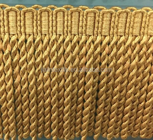 China Supplier Textiles Curtain Fringe Rayon Material Bullion ...
