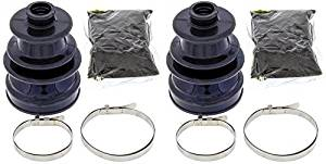Complete Front Outer CV Boot Repair Kit for Yamaha YFM700 Grizzly EPS 2009-2015 All Balls