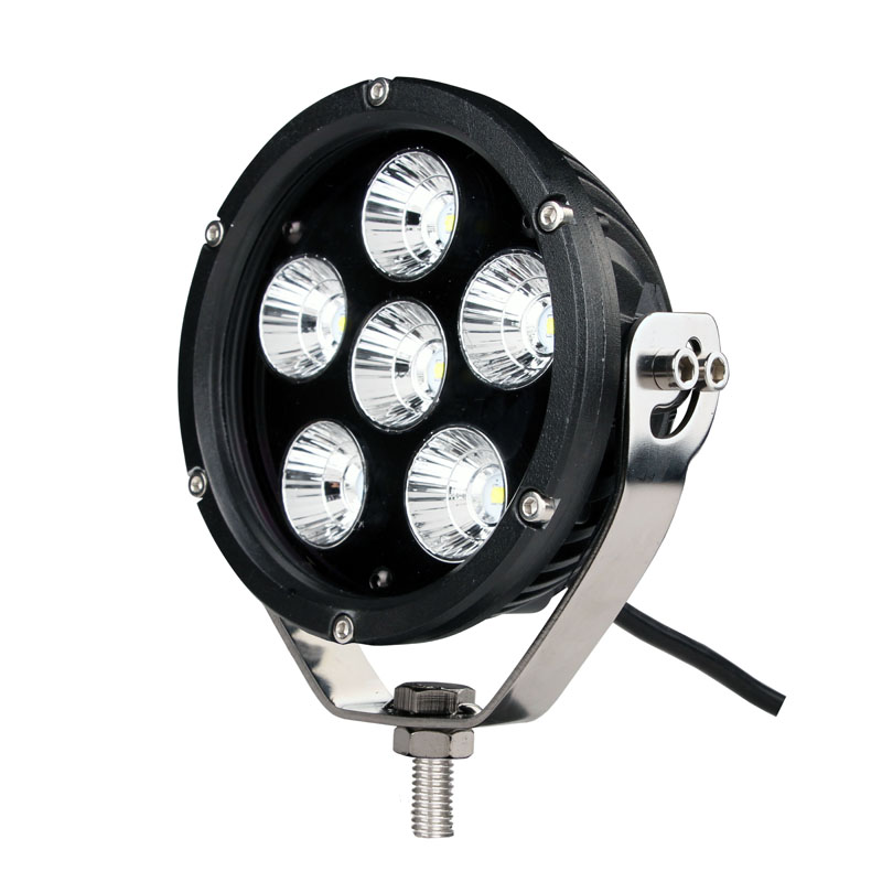 ECE R112 5inch 60w  Led Work Light Round Driving Light for 4x4 4WD Truck UTV