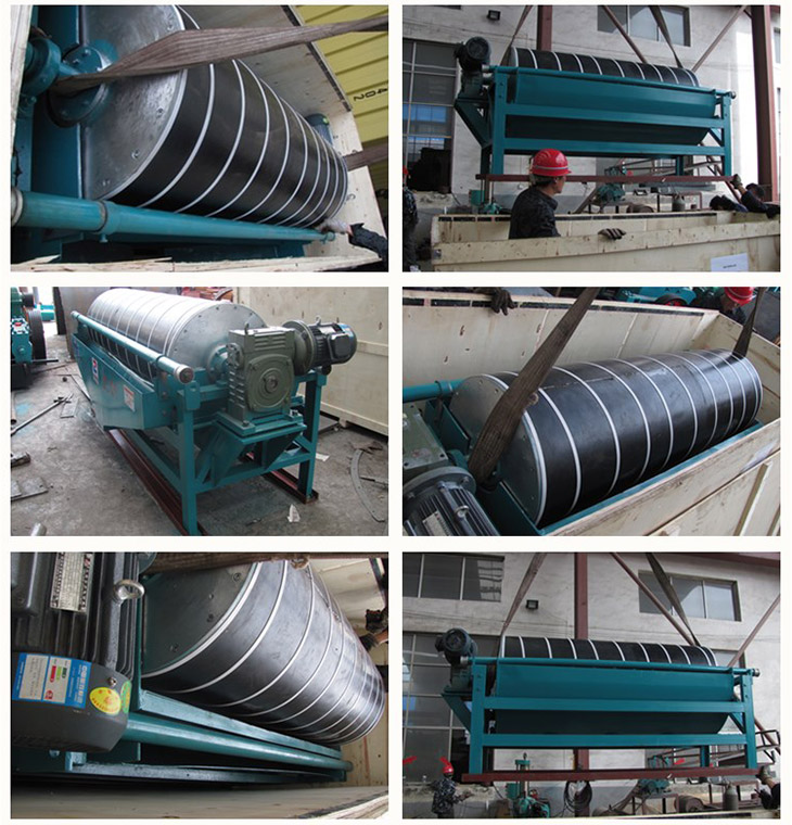 Energy saving CTB series Wet magnetic separator equipment supplier